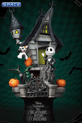 Jack's Haunted House D-Select Diorama (Nightmare before Christmas)
