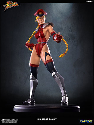1/4 Scale Shadaloo Cammy Statue (Street Fighter IV)