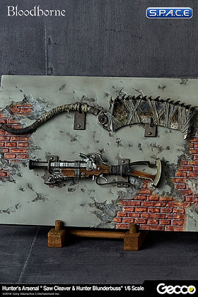 1/6 Scale Hunter's Saw Cleaver