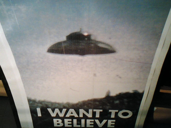 i want to belive filmplakat