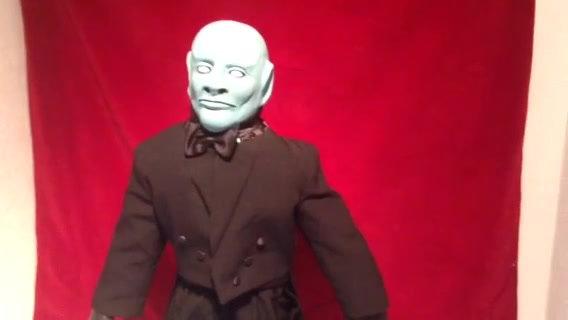 Fantomas Figur handgefertigt