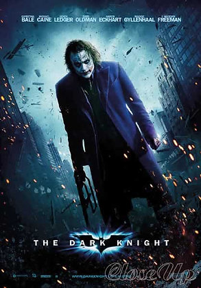 Batman Dark Knight Nolan Christopher Filmplakat