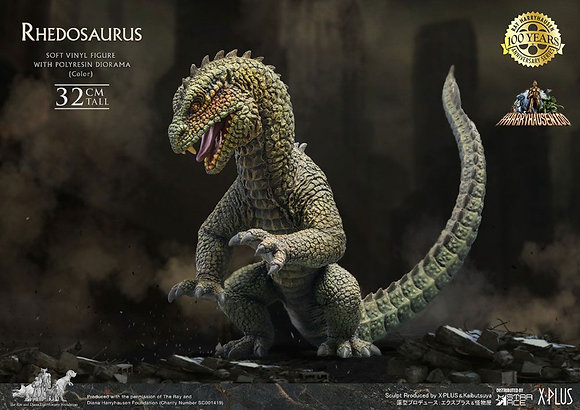Panik in New York Soft Vinyl Statue Ray Harryhausens Rhedosaurus Color 32 cm Sta