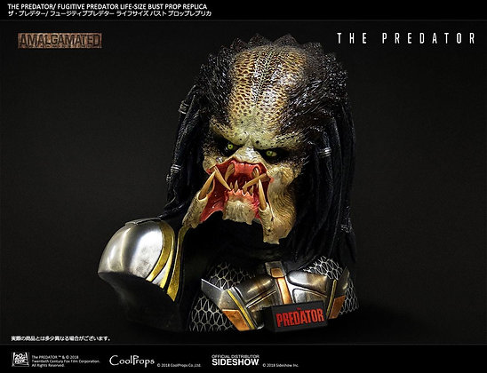 1:1 Fugitive Predator Life-Size Bust (The Predator)