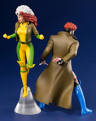 1/10 Scale Gambit & Rogue from X-Men '92 (Marvel)