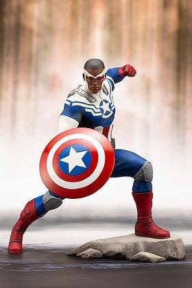1/10 Scale Captain America (Sam Wilson) ARTFX+ Statue (Marvel)
