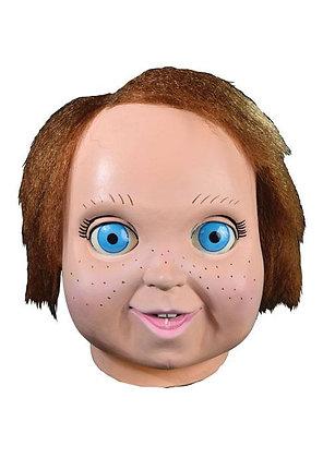 Chucky und seine Braut Latex-Maske mit Kunsthaar Good Guy