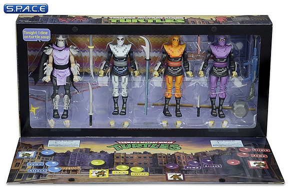 Shredder and the Foot Clan 4-Pack