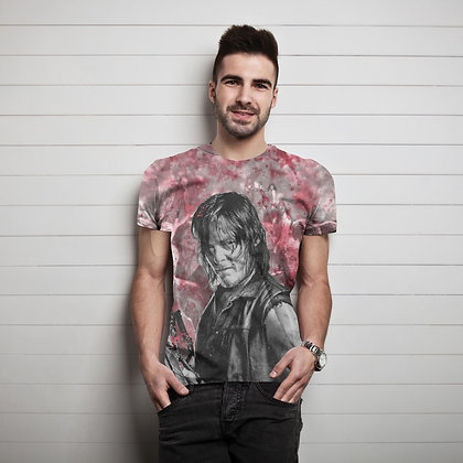 The Walking Dead – Daryl Blood Stain Sublimation Mens