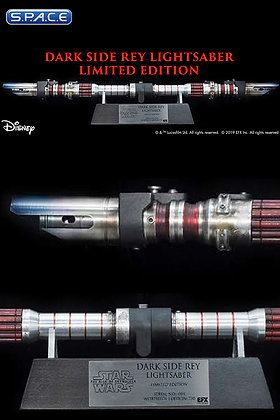 1:1 Dark Side Rey Lightsaber Life-Size Replica (Star Wars - The Rise of Skywalke