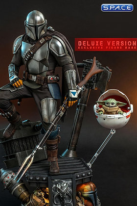 1/4 Scale The Mandalorian and The Child QS017 Deluxe Version (The Mandalorian)