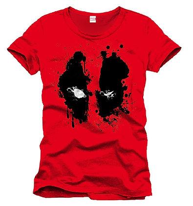 Deadpool T-Shirt Splash Head