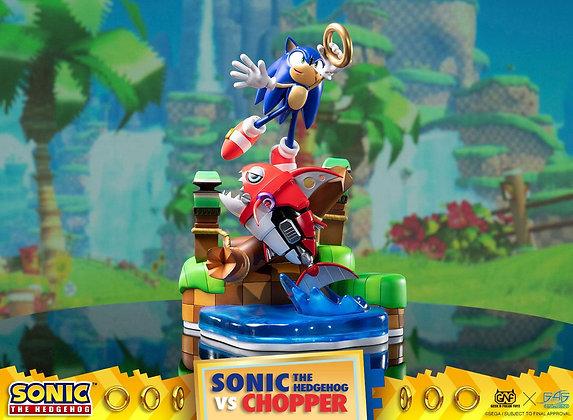 Sonic vs Chopper Diorama (Sonic Generations)