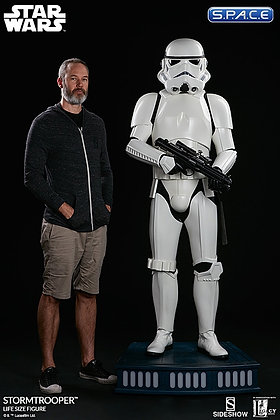 1:1 Stormtrooper life-size Statue