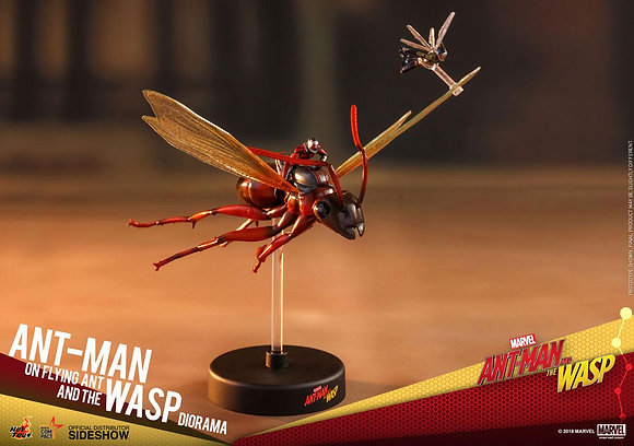 Ant-Man on Flying Ant and the Wasp Movie Masterpiece Compact MMSC004 (Ant-Man an