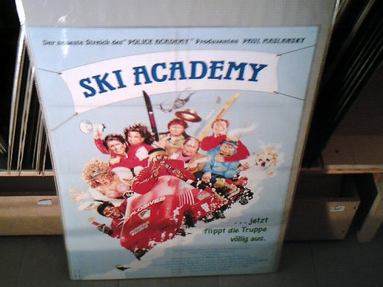 sky academy filmplakat