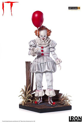 1/10 Scale 2017 Pennywise Deluxe Statue (Stephen King's It)