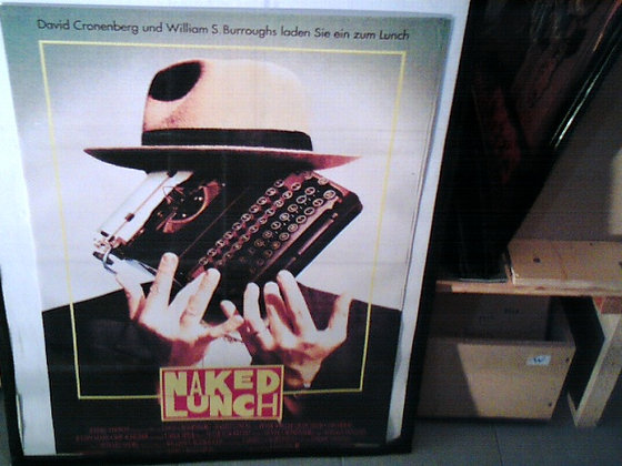 Naked Lunch Filmplakat