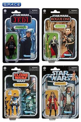 4er Satz: The Vintage Collection 2020 Wave 4 (Star Wars) Hasbro