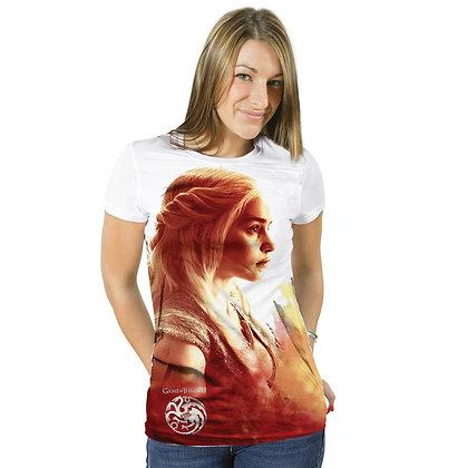 Game Of Thrones – Danaerys Heatwave Ladies Fit Sublimation