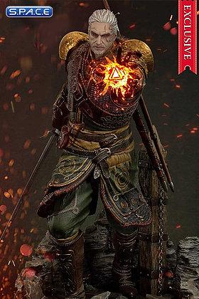 1/4 Scale Geralt of Rivia Skellige Undvik Armor Exclusive Version Premium Master