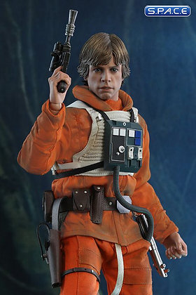 1/6 Scale Luke Skywalker Snowspeeder Pilot TESB 40th Anniversary Collection Movi