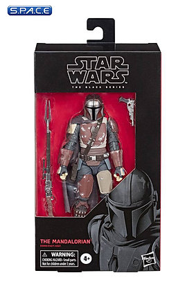 "6"" The Mandalorian (Star Wars - The Black Series) Hasbro"