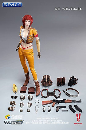 1/6 Scale Female Mercenary »Heart King«
