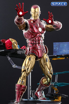 1/6 Scale Iron Man »The Origins Collection« Deluxe Version Comic Masterpiece CMS