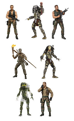 7er Komplettsatz: Predator 30th Anniversary Serie 1 (Predator)