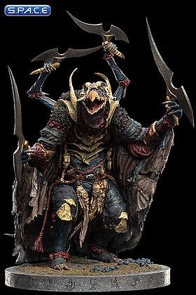 SkekMal the Hunter Skeksis Statue (The Dark Crystal: Age of Resistance)
