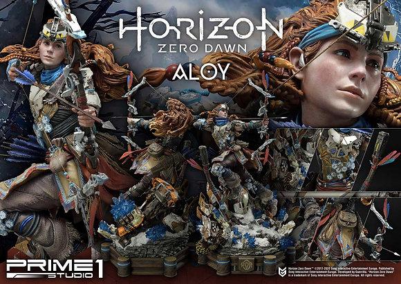 Horizon Zero Dawn Statue 1/4 Aloy Shield Weaver Armor Set 70 cm Statuen Horizon