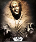 1:1 Han Solo in Carbonite Life-Size Statue - 2nd Edition (Star Wars)