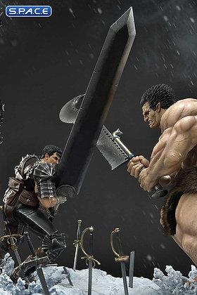 1/6 Scale Guts vs. Zodd Ultimate Diorama Masterline Statue (Berserk)
