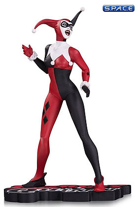 Harley Quinn red, white & black Statue