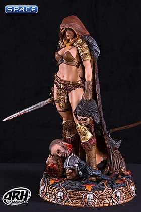 Arhian City of Horrors Statue(Arhian Head Huntress