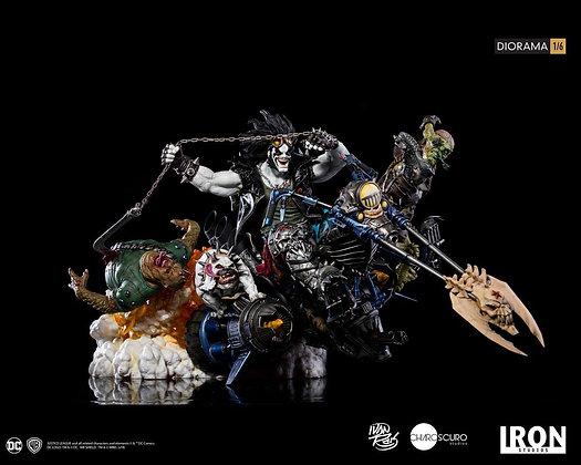 1/6 Scale Lobo Diorama by Ivan Reis (DC Comics)