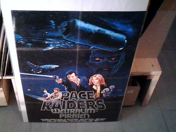 space raiders filmplakat