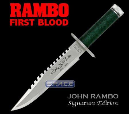 Rambo First blood Knife Signature Edition