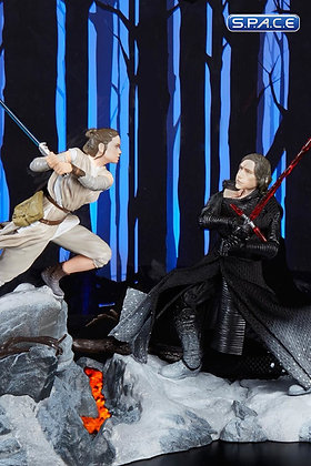 "6"" Rey & Kylo Ren with Starkiller Base SDCC Exclusive 2018 (Star Wars - The Blac"