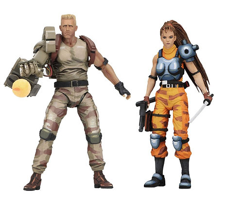 Dutch & Linn 2-Pack Classic Video Game Appearance (Alien vs. Predator)