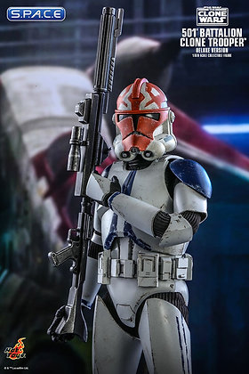 1/6 Scale 501st Battalion Clone Trooper TMS023 Deluxe Version (Star Wars - The C