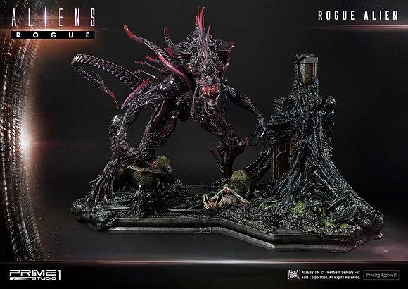 Aliens Premium Masterline Series Statue Rogue Alien Battle Diorama 66 cm Statuen