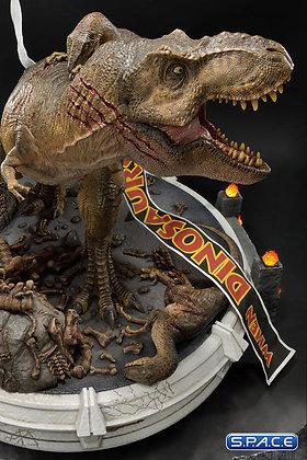 1/8 Scale T-Rex vs. Velociraptors (Jurassic Park)