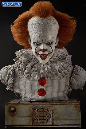 1:1 2017 Pennywise Life-Size Bust (Stephen King's It)