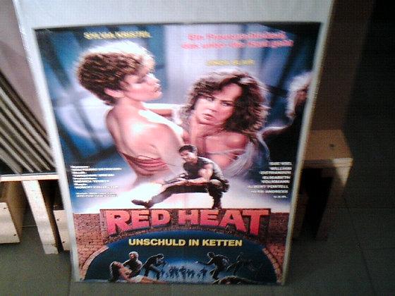 red heat(unschuld in ketten)filmplakat