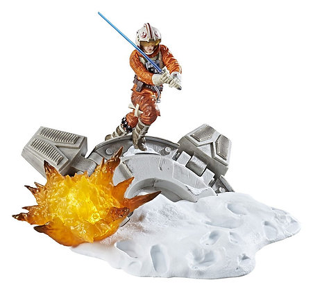 Luke Skywalker Centerpiece Diorama (The Black Series 2017)