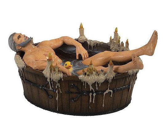 Geralt in the Bath Statue (The Witcher 3: Wild Hunt)