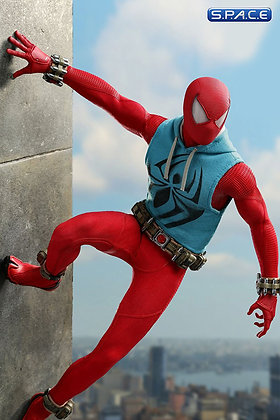 1/6 Scale Spider-Man Scarlet Spider Suit 2019 Toy Fairs Exclusive VGM34 (Marvel'