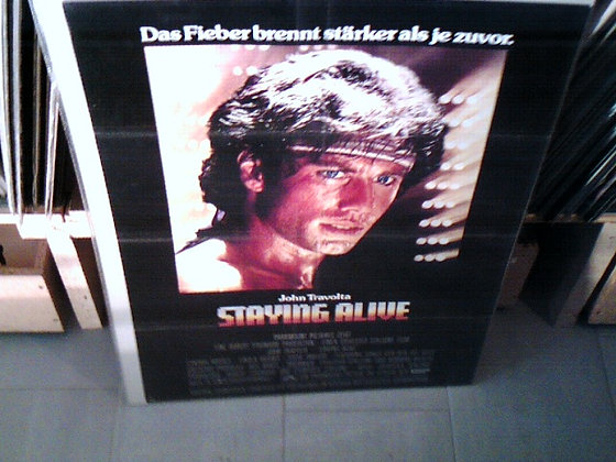 staing alive filmplakat